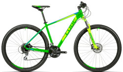 Велосипед Cube AIM SL 27.5 green-blue