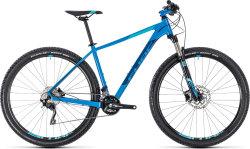 Велосипед Cube ATTENTION SL 27.5 aqua-blue