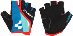Велосипедные перчатки Cube JUNIOR RACE EAZY action team