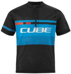 Веломайка детская Cube JUNIOR TEAMLINE S/S black-blue-white