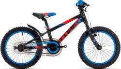 Велосипед Cube KID 160 black n flashred n blue