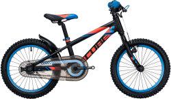 Велосипед Cube KID 160 black-flashred-blue