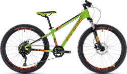 Велосипед Cube KID 240 RACE green-orange