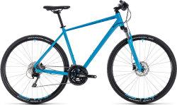 Велосипед Cube NATURE EXC blue-blue