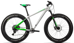 Велосипед Cube NUTRAIL PRO 26 metal-green