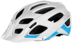 Велосипедный шлем Cube PRO white-blue