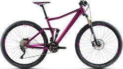 Велосипед Cube STING WLS 120 SL 29 purple-pink