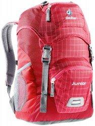 Велосипедный рюкзак Deuter JUNIOR raspberry-check