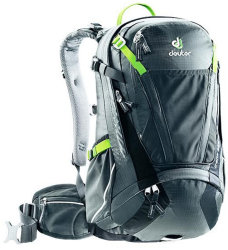 Велосипедный рюкзак Deuter TRANS ALPINE 24 graphite-black