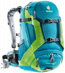 Велосипедный рюкзак Deuter TRANS ALPINE 25 petrol-kiwi
