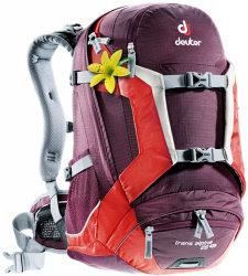Велосипедный рюкзак Deuter TRANS ALPINE 26 SL aubergine-fire