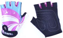 Велосипедные детские перчатки Tersus KIDS LOLIPOP pink/mint