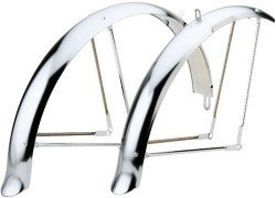 Велосипедные крылья Felt CRUISER FENDER SET LONGBOARD Chrome