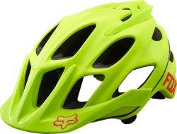 Велосипедный шлем FOX FLUX green