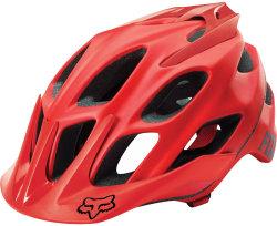 Велосипедный шлем FOX FLUX SOLIDS red