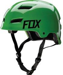 Велосипедный шлем FOX TTRANSITION HARD SHELL green