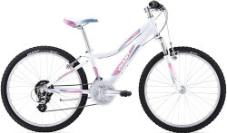 Велосипед Giant AREVA 1 24 white-pink