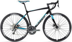 Велосипед Giant CONTEND SL 2 DISC black-blue