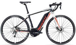 Велосипед Giant ROAD-E+2 white-black-red