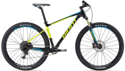 Велосипед Giant FATHOM 1 29 black-yellow