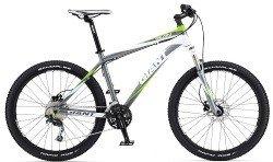 Велосипед Giant TALON 3 silver-white-green