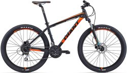 Велосипед Giant TALON 3 27.5 black-orange