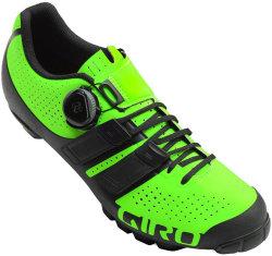 Велотуфли Giro CODE TECHLACE lime-black