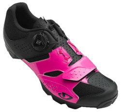 Велотуфли Giro CYLINDER W pink-black