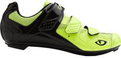 Велотуфли Giro TREBLE II black-yellow