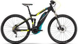 Велосипед Haibike SDURO FULLNINE 5.0 29 black-lime-cyan matt