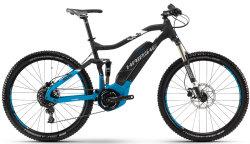 Велосипед Haibike SDURO FULLSEVEN 5.0 27,5 black-blue-white matt
