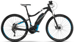Велосипед Haibike SDURO HARDNINE 5.0 29 black-blue-white matt