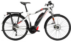 Велосипед Haibike SDURO TREKKING S 8.0 white-titan-red