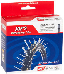 Камера Joes SCHRADER SELF SEALING TUBE 26x1,75-2,125