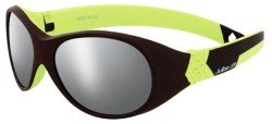 Очки Julbo BUBBLE chocolate-lime green