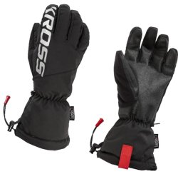 Велосипедные перчатки Kross 5F black