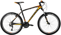 Велосипед Kross LEVEL A2 26 black mat