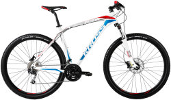 Велосипед Kross LEVEL B4 29 white-blue-red glossy