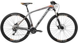 Велосипед Kross LEVEL B7 29 graphite-black orange-matte