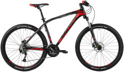 Велосипед Kross LEVEL R2 27.5 black-red