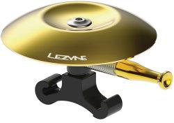Звонок Lezyne CLASSIC SHALLOW BRASS BELL gold-black