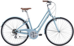 Велосипед Giant LIV FLOURISH FS 2 grayish-blue