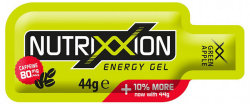 Гель энергетический Nutrixxion ENERGY GEL XX-FORCE 44г green apple 80мг кофеина