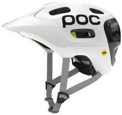Велосипедный шлем POC TRABEC RACE MIPS white-black