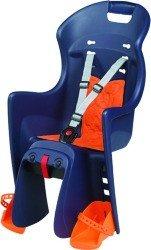 Детское велокресло Polisport BOODIE CFS blue-orange