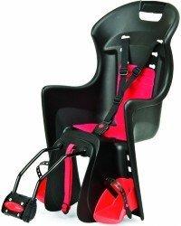 Детское велокресло Polisport BOODIE FF black/red