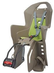 Детское велокресло Polisport KOOLAH FF 29 brown-grey