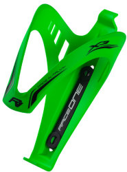 Флягодержатель RaceOne X3 AFT RUBBERIZED green fluo