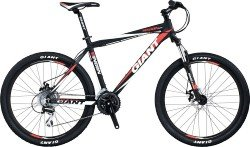Велосипед Giant RINCON DISC 26 black-red-white