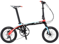 Велосипед Sava Z2-9S black-red
